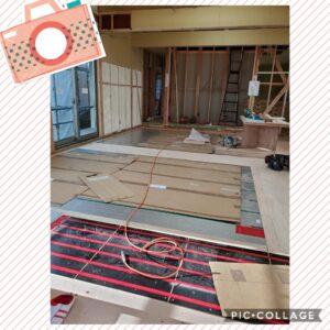 リフォーム、リノベ、リノベーション、床暖房、施工