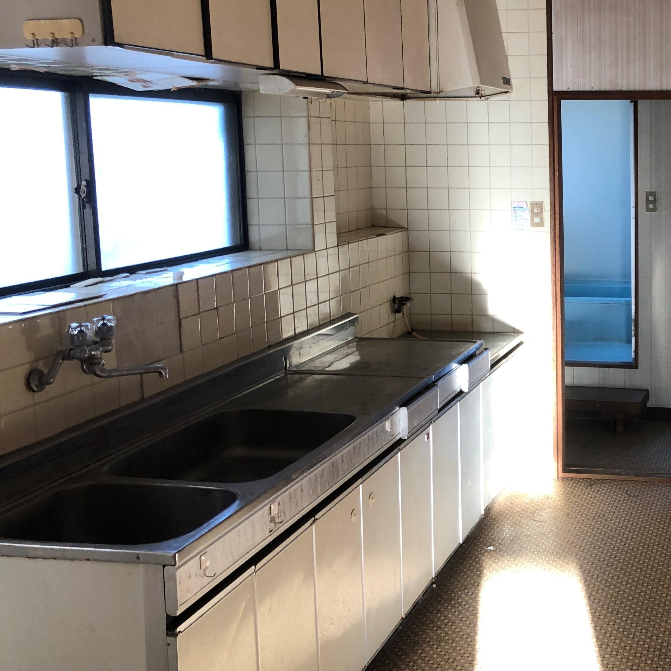 リノベ施工前キッチン